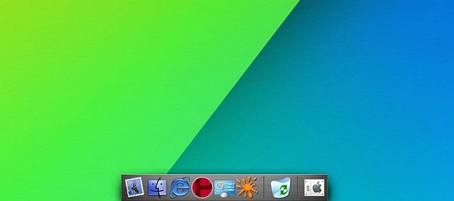 usare menù Mac OS X in Windows