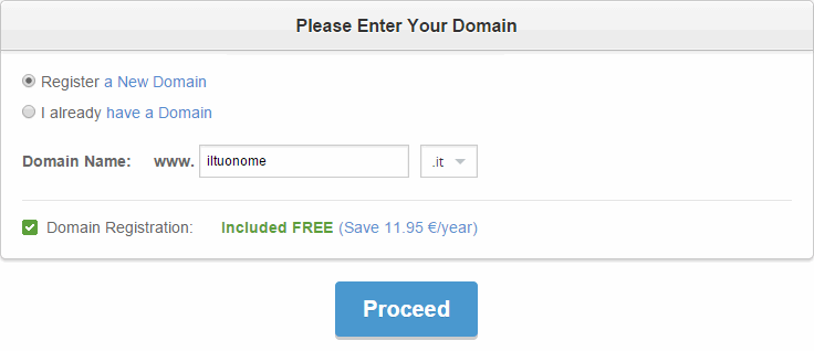 acquistare dominio e installare WordPress o Joomla