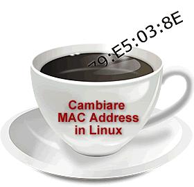 Come modificare indirizzo MAC con linux da terminale o da GUI