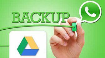 Come fare backup Whatsapp di foto video e chat