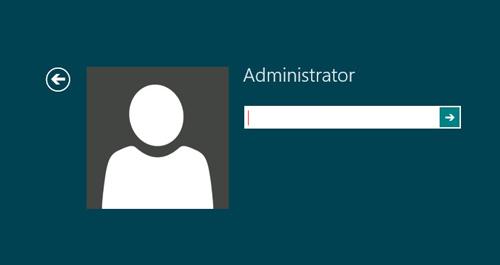 abilitare account administrator
