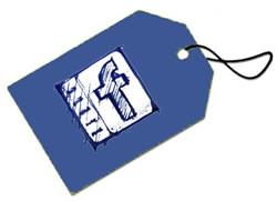 taggare una pagina su Facebook