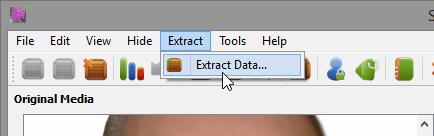come nascondere dati in una foto