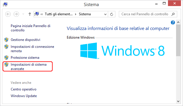 velocizzare windows 8