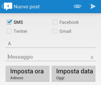 Come inviare SMS programmati
