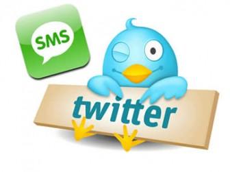 Come inviare tweet via SMS