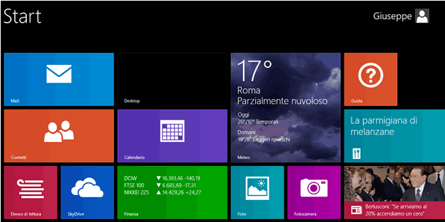 login automatico windows 8