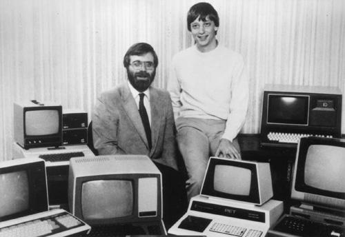 co-fondatori di Microsoft, 1975