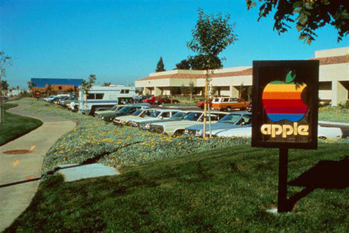 Quartier generale Apple a Cupertino, 1981
