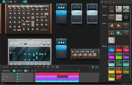 strumenti musicali virtuali