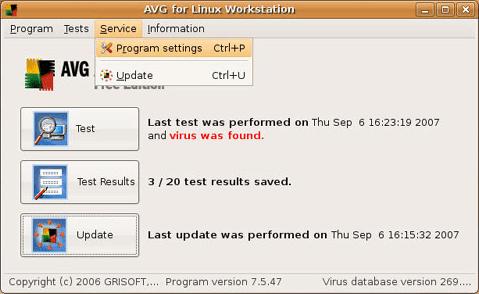 avast free per linux italiano