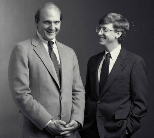 Steve Ballmer entra in Microsoft l'11 Giugno, 1980