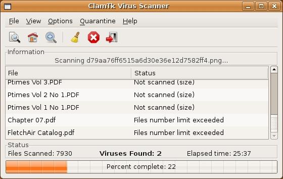 antivirus per linux