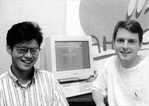 Fondatori di Yahoo!, circa 1994