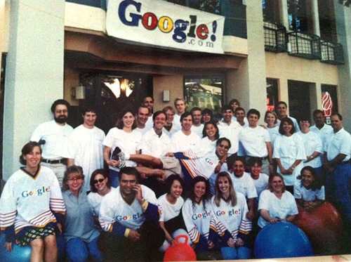 Il primo team di Google, California 1999