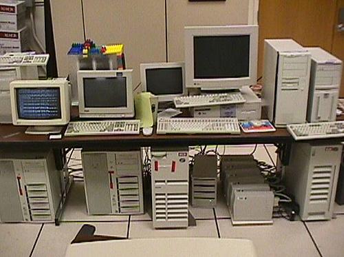 La piattaforma originale di Google, 1998