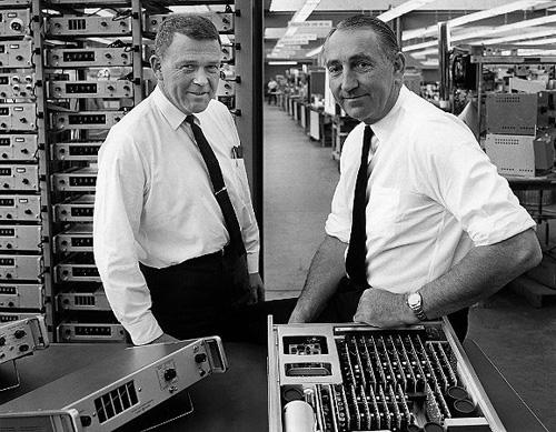 I fondatori di HP, 1963