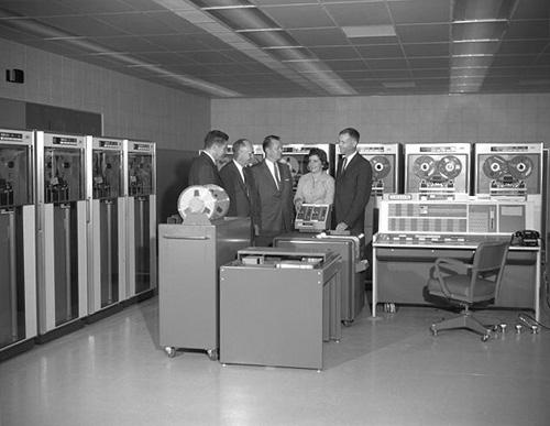 Computer IBM 7090, 1961
