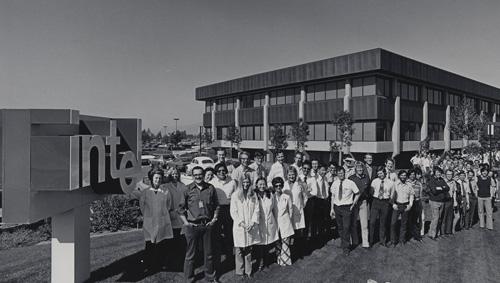 Intel Santa Clara, 1970