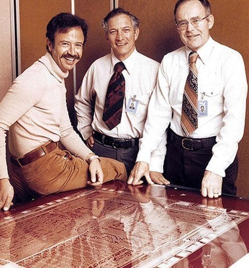 I fondatori di Intel e il loro primo first hire, 1978