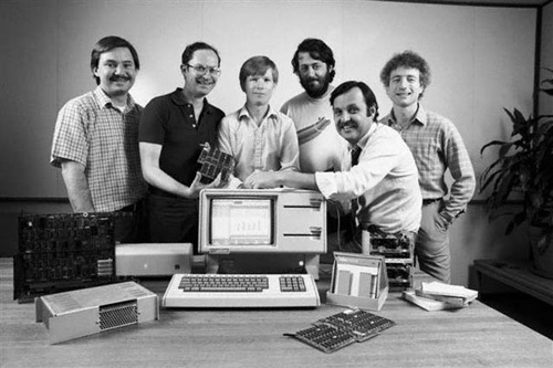 Il Team di Apple Lisa, 1983