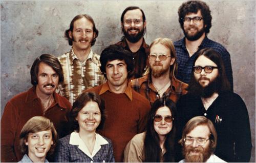 I primi 11 impiegati Microsoft, 1978