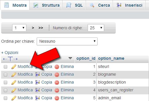errori wordpress comuni