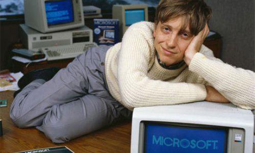 Il giovane Bill Gates, 1985