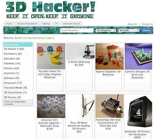 Modelli stampanti 3d