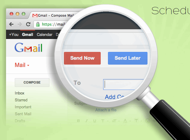 Right InBox Come inviare email in ritardo con gmail
