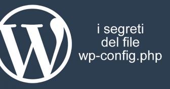 i segreti del fil e wp-config.php
