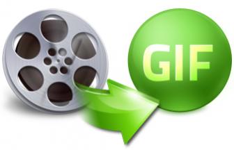Come convertire youtube in gif animate