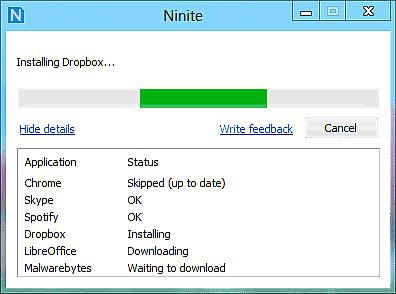 Come installare programmi in blocco