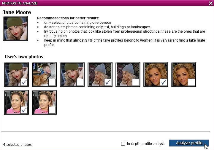 Come scoprire profili finti Facebook