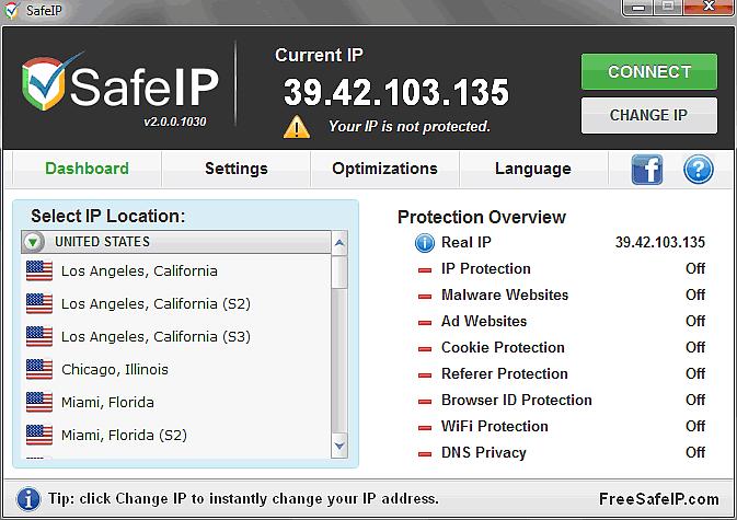 Come nascondere indirizzo IP mentre navighi