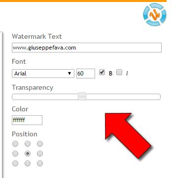 Come aggiungere Watermark alle foto