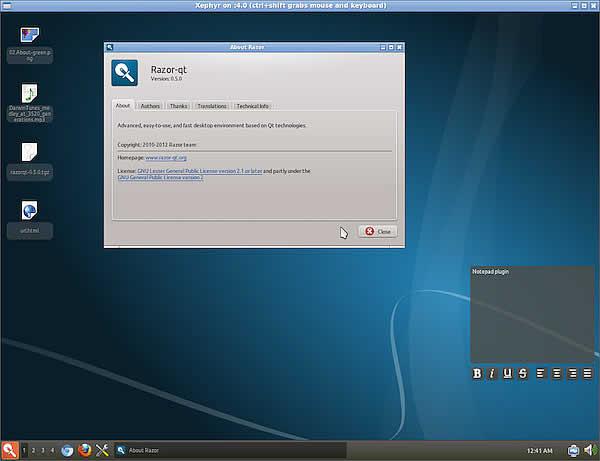 10 desktop manager Linux