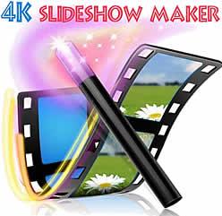 Creare slideshow con foto e musica – 4kSlideshow Maker