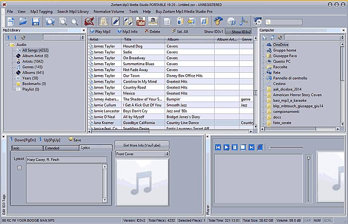 Organizzare MP3