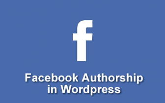 Aggiungere Facebook Authorship in Wordpress