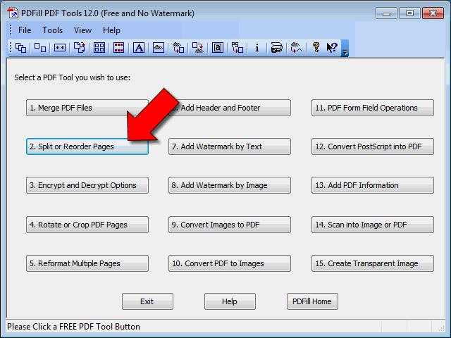 Come dividere PDF