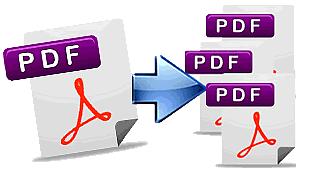 Come dividere PDF in più file