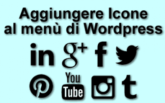 icone menù Wordpress