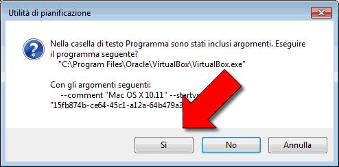 Avviare automaticamente macchina virtuale