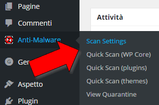 Come rimuovere malware da wordpress