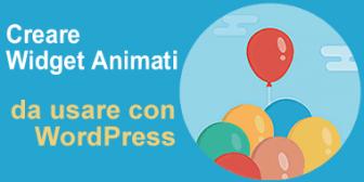widget animati per wordpress
