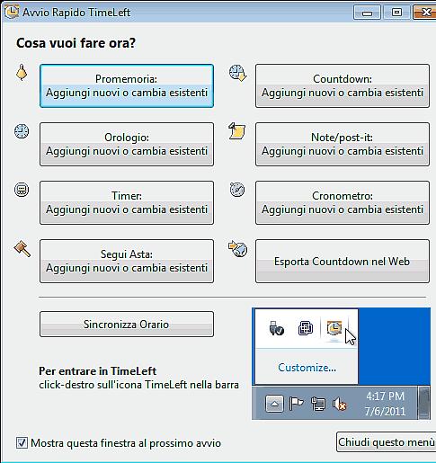 conto alla rovescia col computer
