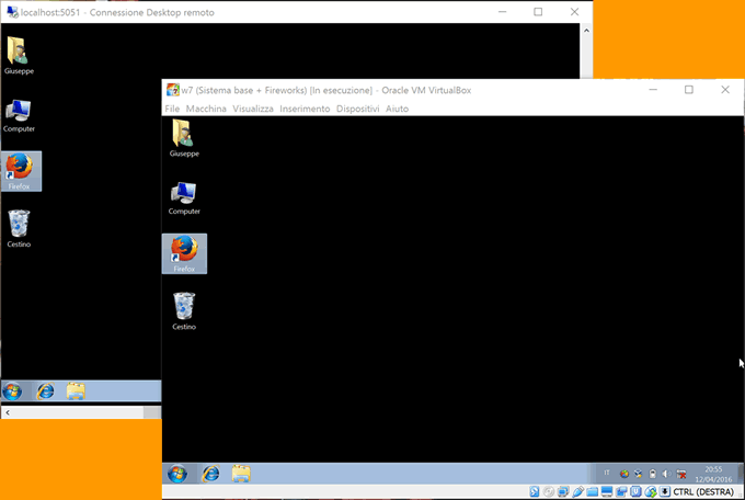 accedere da remoto a VirtualBox