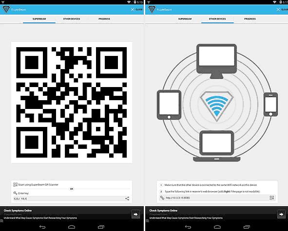 Come copiare file da Android a PC wireless