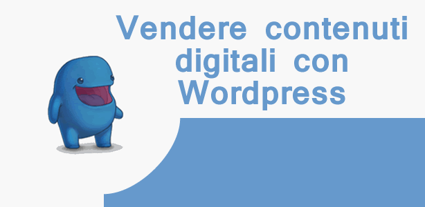 vendere file con wordpress